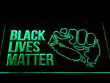 Black Lives Matter LED Sign - Green - TheLedHeroes