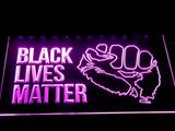 Black Lives Matter LED Sign - Purple - TheLedHeroes