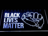 Black Lives Matter LED Sign - White - TheLedHeroes