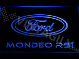 Ford Mondeo RSI LED Neon Sign Electrical - Blue - TheLedHeroes