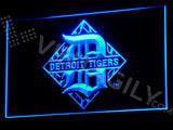 Detroit Tigers Logo LED Sign - Blue - TheLedHeroes