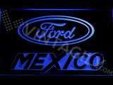 Ford Mexico LED Neon Sign Electrical - Blue - TheLedHeroes