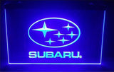FREE Subaru LED Sign - Blue - TheLedHeroes