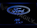 Ford RS 500 LED Neon Sign Electrical - Blue - TheLedHeroes
