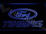 Ford Team RS LED Neon Sign Electrical - Blue - TheLedHeroes