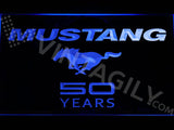 Mustang 50 Years LED Sign