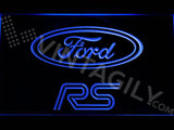 FREE Ford RS LED Sign - Blue - TheLedHeroes