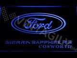 Ford Sierra RS Cosworth LED Neon Sign Electrical - Blue - TheLedHeroes
