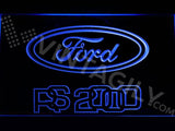 Ford RS 2000 LED Neon Sign Electrical - Blue - TheLedHeroes