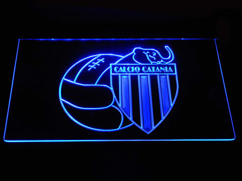 Calcio Catania LED Sign - Blue - TheLedHeroes