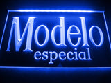 FREE Modelo Especial LED Sign - Blue - TheLedHeroes