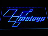 FREE MotoGP LED Sign - Blue - TheLedHeroes