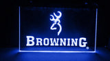 Browning Firearms LED Neon Sign Electrical - Blue - TheLedHeroes
