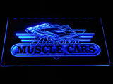 American Muscle Cars LED Sign