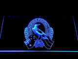 Collingwood Football Club LED Neon Sign USB - Blue - TheLedHeroes