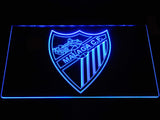 FREE Málaga CF LED Sign - Blue - TheLedHeroes