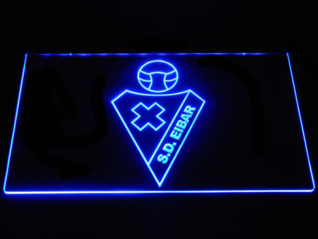 SD Eibar LED Neon Sign USB - Blue - TheLedHeroes
