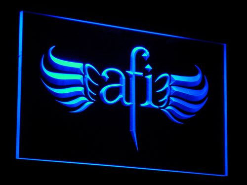 AFI LED Sign - Blue - TheLedHeroes