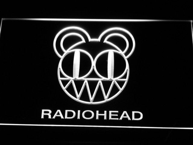Radiohead LED Sign - White - TheLedHeroes