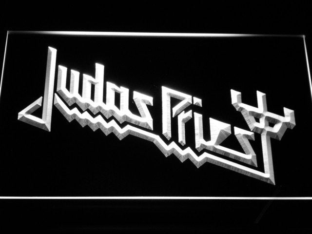 Judas Priest LED Sign - White - TheLedHeroes