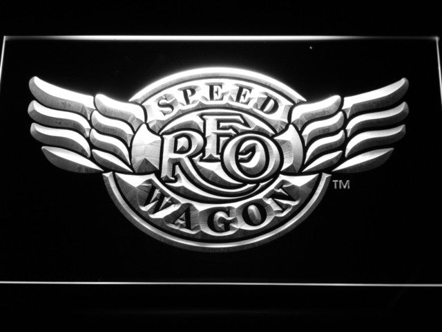 Reo Speedwagon LED Sign - White - TheLedHeroes