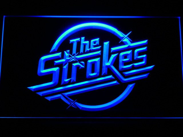 The Strokes LED Sign - Blue - TheLedHeroes