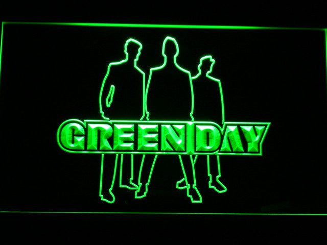 Green Day LED Sign - Green - TheLedHeroes