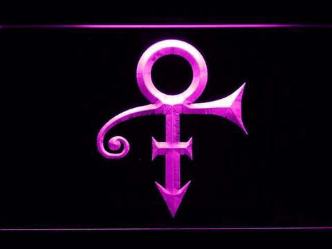 Prince Symbol LED Sign - Purple - TheLedHeroes