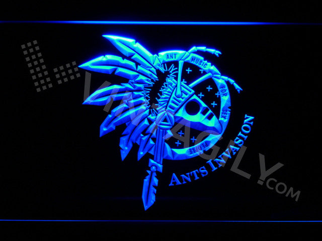 Ants Invasion LED Sign - Blue - TheLedHeroes