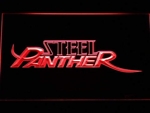 Steel Panther LED Sign - Red - TheLedHeroes
