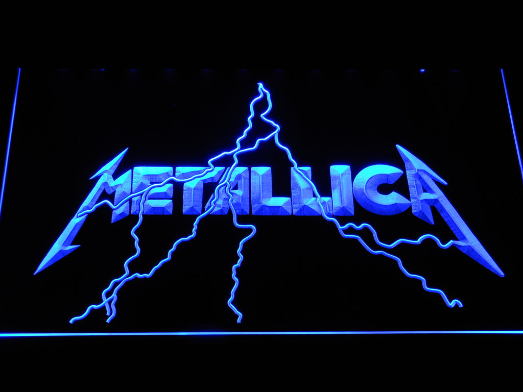 New Metallica LED Sign - Blue - TheLedHeroes