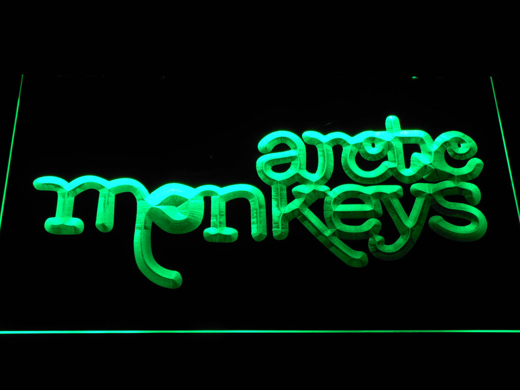 Arctic Monkeys LED Sign - Green - TheLedHeroes