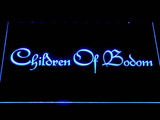Children of Bodom LED Sign -  Blue - TheLedHeroes