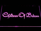 Children of Bodom LED Sign - Purple - TheLedHeroes