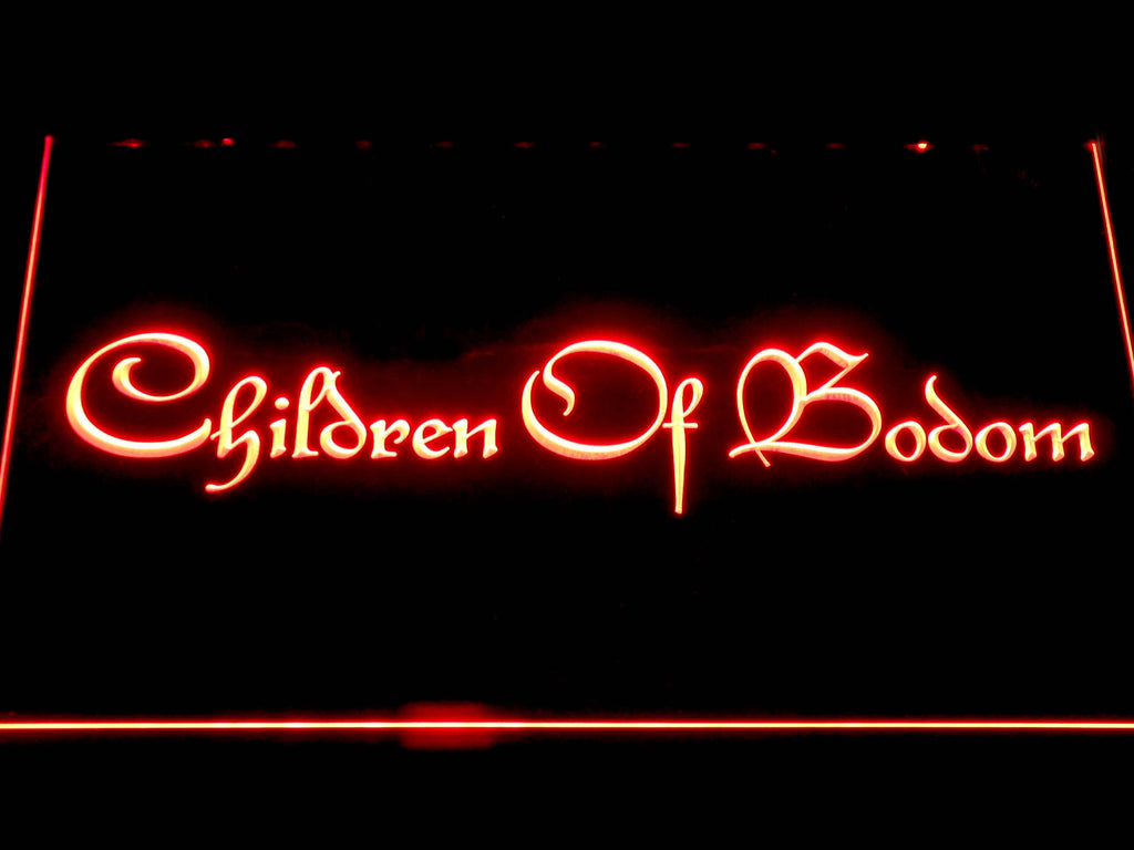 Children of Bodom LED Sign - Red - TheLedHeroes