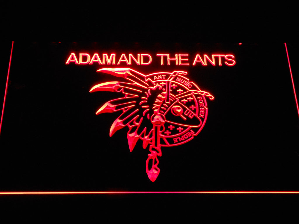 Adam And The Ants LED Sign - Red - TheLedHeroes