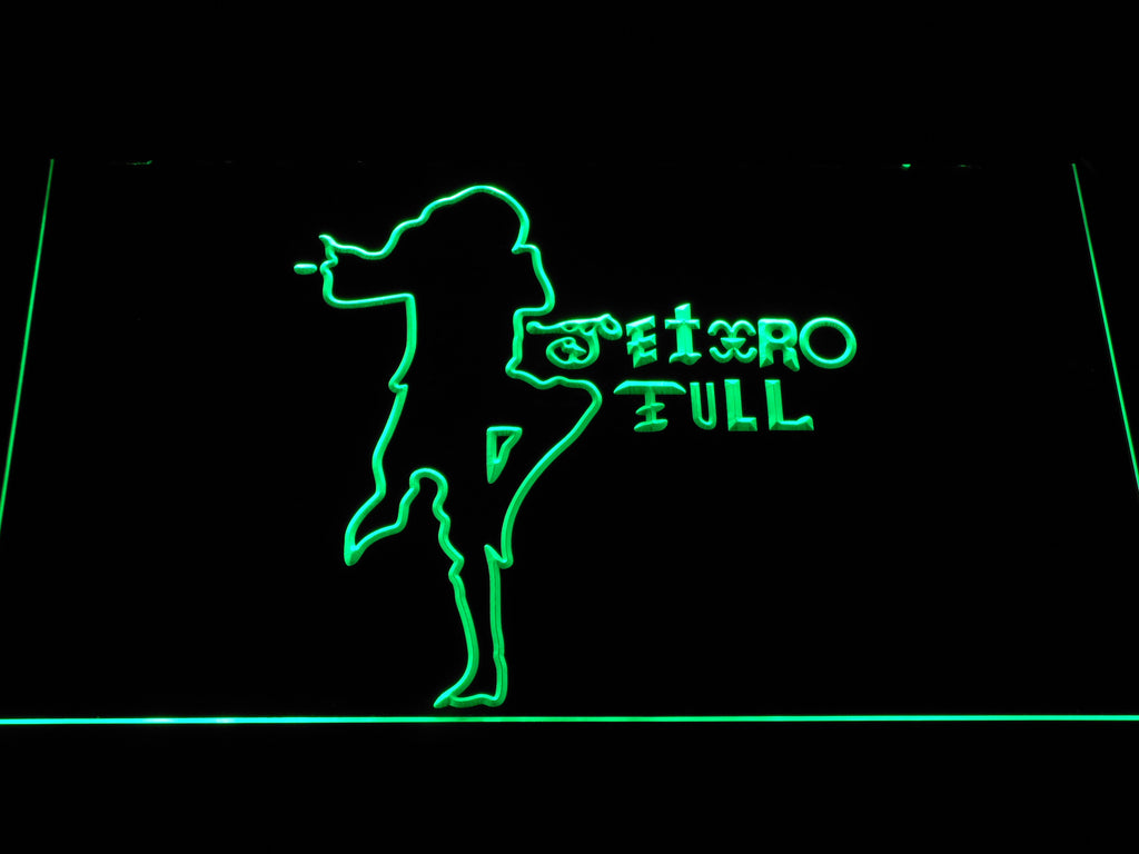 Jethro Tull LED Sign - Green - TheLedHeroes