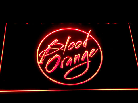 Blood Orange LED Sign