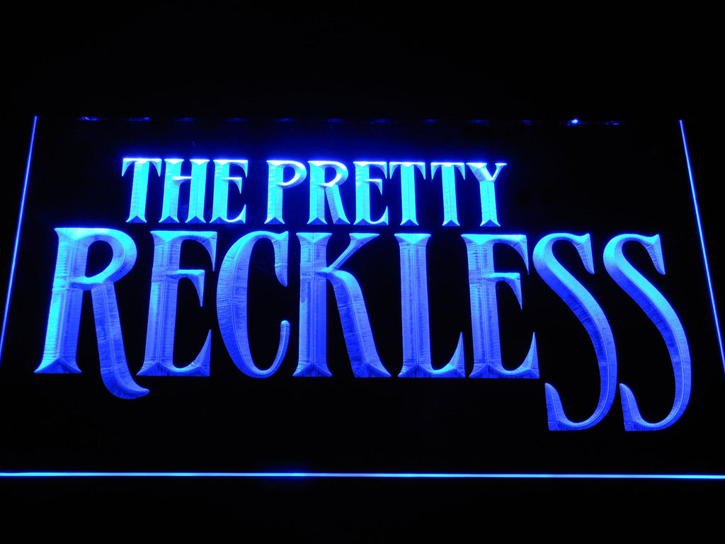 The Pretty Reckless LED Neon Sign USB - Blue - TheLedHeroes