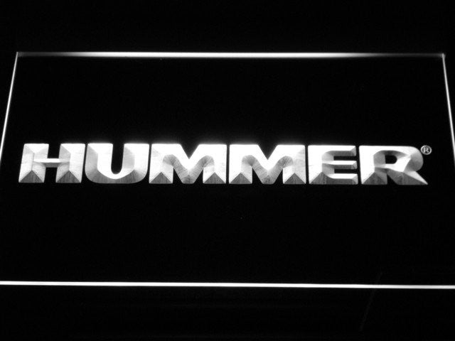 Hummer LED Sign - White - TheLedHeroes