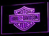 Harley Davidson LED Sign - Purple - TheLedHeroes
