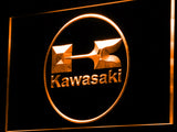 Kawasaki Racing Motorcylce LED Sign - Orange - TheLedHeroes