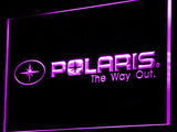 FREE Polaris Snowmobile LED Sign - Purple - TheLedHeroes