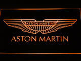 Aston Martin LED Sign - Orange - TheLedHeroes