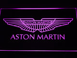 Aston Martin LED Sign - Purple - TheLedHeroes