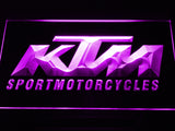 KTM Sport Motorcycles LED Sign - Purple - TheLedHeroes
