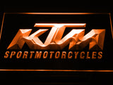 KTM Sport Motorcycles LED Sign - Orange - TheLedHeroes