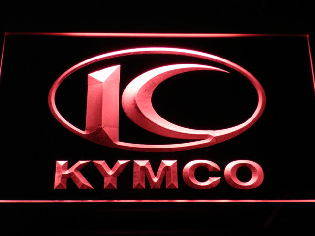 FREE Kymco Motorcycle LED Sign - Red - TheLedHeroes
