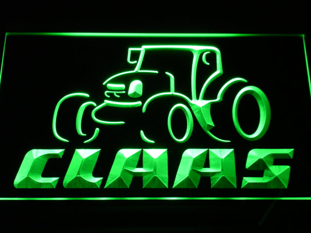 Claas Tractor LED Sign - Green - TheLedHeroes