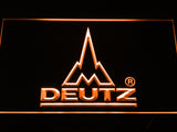 Deutz LED Sign - Orange - TheLedHeroes